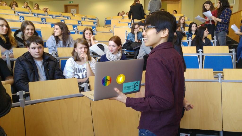 Warsztaty międzykulturowe w Instytucie Socjologii