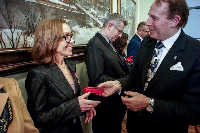 Święto Uniwersytetu Opolskiego i medal KEN dla prof. Anny Śliz