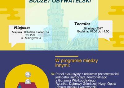 28.02.2017 plakat budżet obywatelski